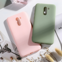 PocoPhone F1 Candy Color Case for Xiaomi PocoPhone F1 Cases Coque Xiomi PocoPhone F1 Poco PhoneF1 Soft Silicone Bumper Covers цена и фото