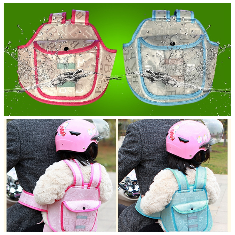 Motorcycle safety Seat Belt Adjuster Bike safety belt device baby child protector positioner Harness Backseat for Yamaha Honda