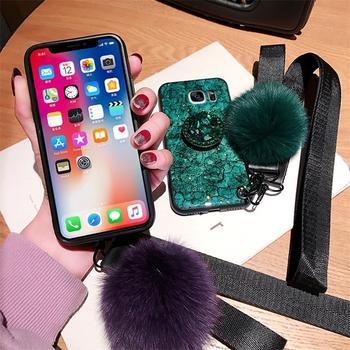 Fashion Marble Glitter Case For Samsung Galaxy A8 Plus A6 A7 A9 2018 S10 S10E Cover On J4 J6 J8 A10 A20 A20E A30 A40 A50 A60 A70 1