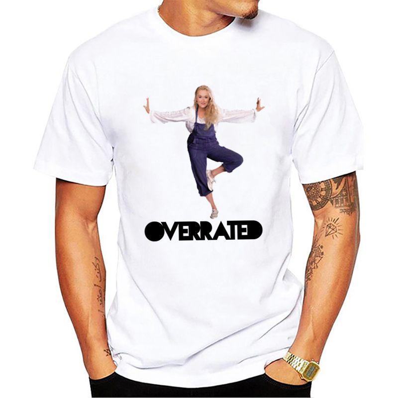 c4ea6c3c3 Meryl Streep 2018 New Arrival Summer Style Men Short Sleeve Shirt Male  Cotton Casual T Shirts
