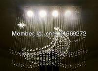 2013 The Newest LED Crystal Chandelier 4 Bulbs Mooon And Star Crystal Lamp