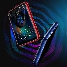 Najnowszy Bluetooth 5.0 MP3 odtwarzacz Benjie X5 w pełni dotykowy ekran przenośny odtwarzacz muzyki z głośnikiem fm radio z nagrywaniem wideo E book