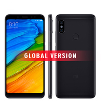 Original Xiaomi Redmi Note 5 4GB RAM 64GB ROM Mobile Phone Snapdragon 636 Octa Core 5.99 18:9 Full Screen MIUI9 Dual Camera