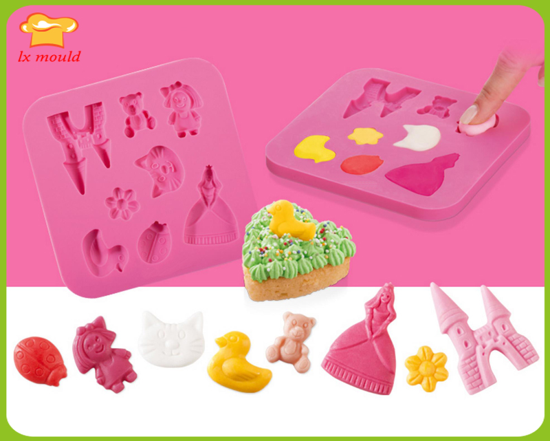 Heart Shape Love Silicone Mould Chocolate Dessert Baking Mold Valentine's Day Cake Decoration Mould