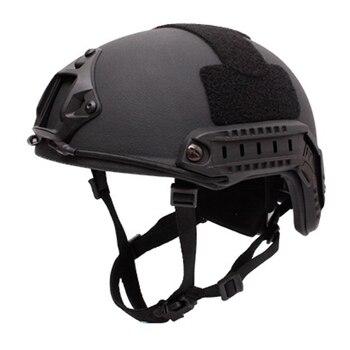 Bulletproof Helmet Level IIIA 3A Military tactics FAST MH High Cut Bullet proof Aramid Ballistic Self Defense Black/khaki