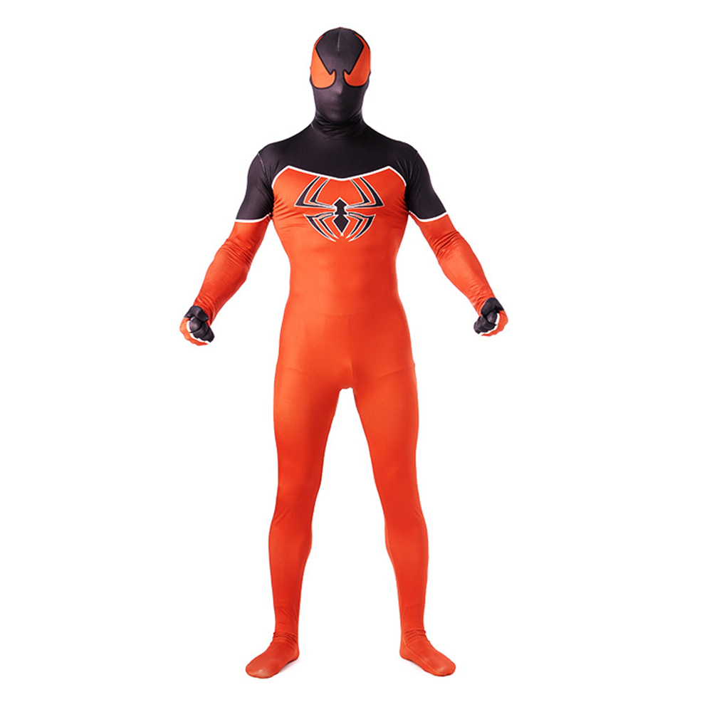 Superhero Spider-Man: Homecoming Costumes Spider-Man Tights Cosplay Leica Spandex Printed Onesies Printed zentai Tights