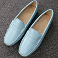 Newest Brand Design Classic Casual Women Flats Shoes Genuine Leather driving shoes Fashion Simply Style Loafers huarche