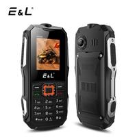 E L K6900 Mobile Phone IP68 Waterproof 32MB RAM 32MB ROM Keyboard 2000mAh 2G GSM Dual