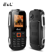 E&L K6900 Mobile Phone IP68 Waterproof 32MB RAM 32MB ROM Keyboard 2000mAh 2G GSM Dual SIM Card Unlocked Cell Phones Shockproof