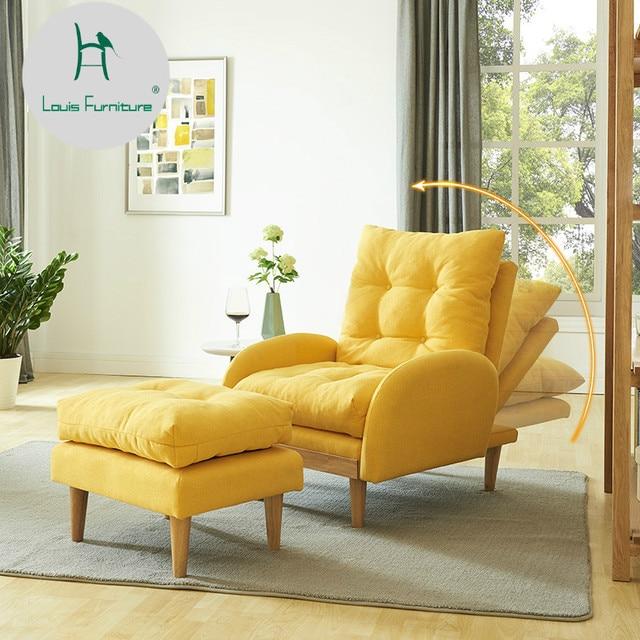 Louis Mode Wohnzimmer Sofas Einfache Faul Stuhl Mini Tatami Balkon