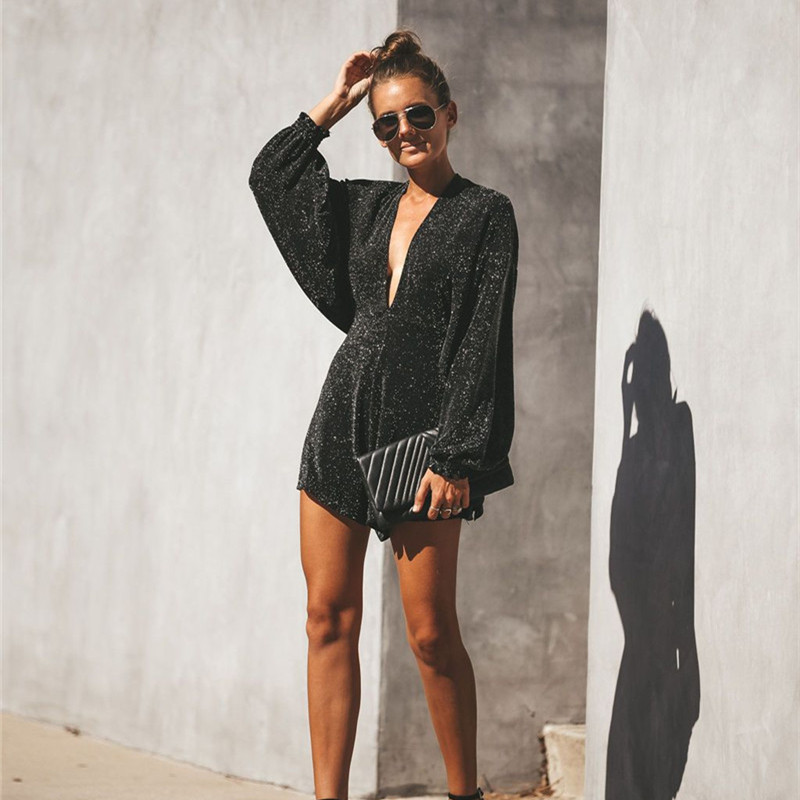 Jumpsuits for Women 2019 Rompers Womens Sexy & Club Playsuits Casual Summer Backless Bodysuits Jumpsuit