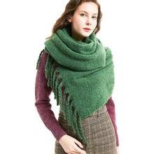 b0ec0daaf7ee Bufanda mujeres invierno Poncho capa bufandas del poliester hombres 2018  otoño mantón accesorios Manteau Femme Hiver