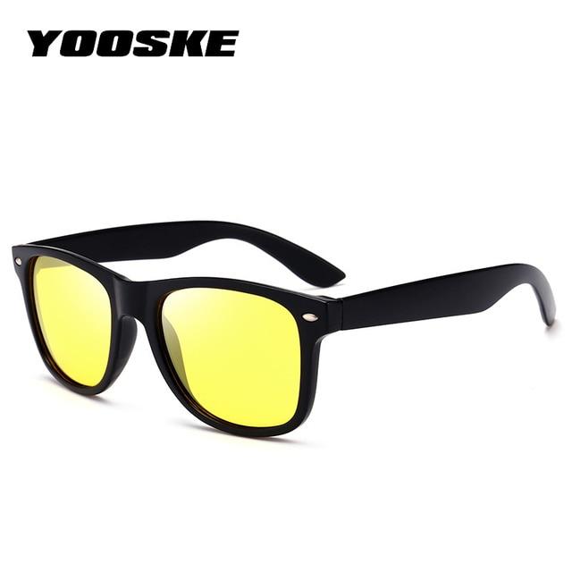 04fa854342148 YOOSEK Moda Polarizada Óculos De Sol Dos Homens Das Mulheres Do Vintage  2140 Óculos de Sol