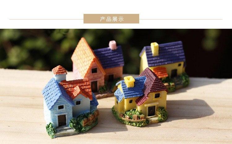 1 шт. ручной работы DIY Миниатюрные мхи Декор кукольный домик газон мини вилла Смола украшения микро пейзаж