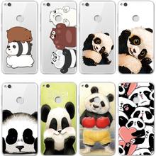 Panda coque TPU For Huawei P8 P9 P10 Plus P20 Mate S 10 20 Lite Honor 7A Pro Mini Y6 2017 Y7 G8 P Smart For Huawei P20 Lite Case