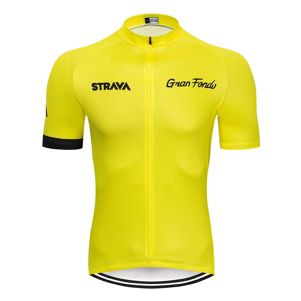 Cycling Jersey Bike Racing Riding Tri MTB Pro Grand Fondo Bicycle Strava Jersey