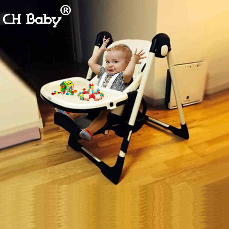 CH baby multifunctional baby feed highchair fold protable baby feed chair washable child feed seat for 0-4years old