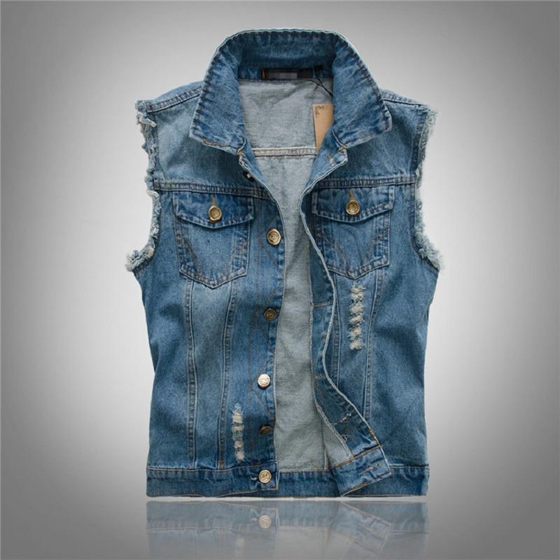 Veste en jean homme marque