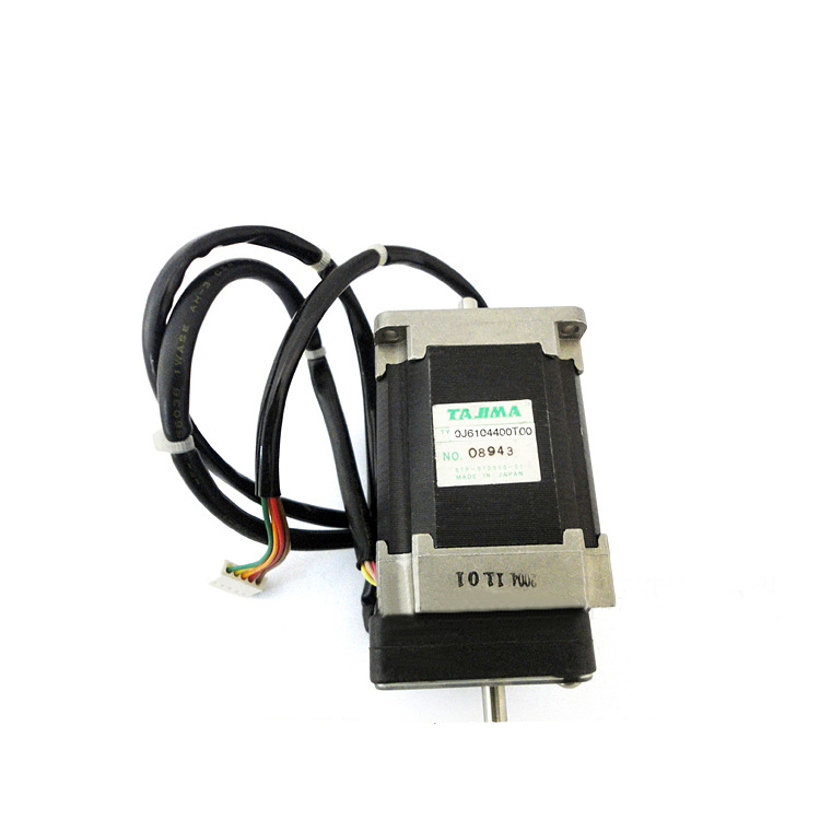 0J6104400T00 Pulse Motor :57mm Square :Double End[T] for Tajima embroidery machine spare parts