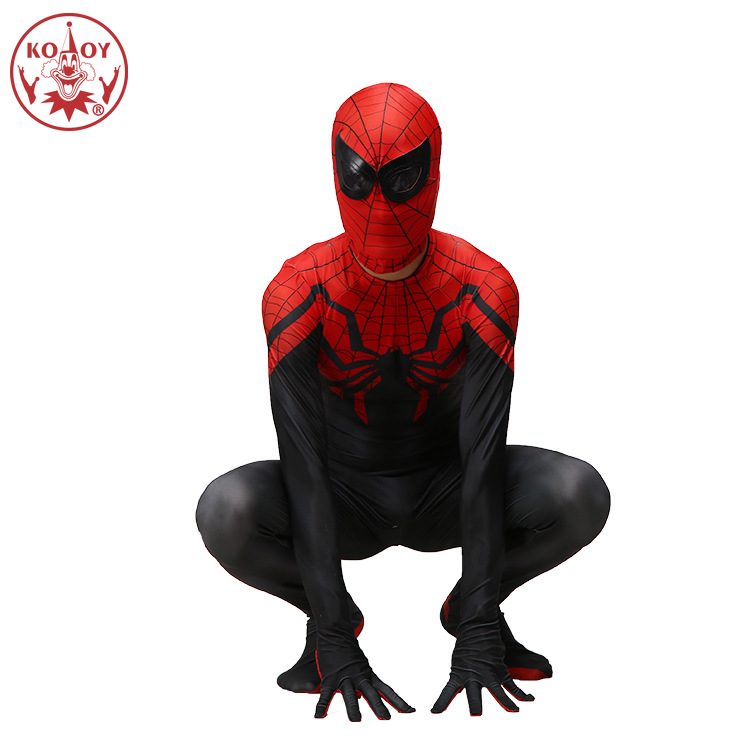 Spiderman Costume Ultimate Spider-Man Adult Marvel Jumpsuit Halloween  Cosplay Spider Men Body Suit