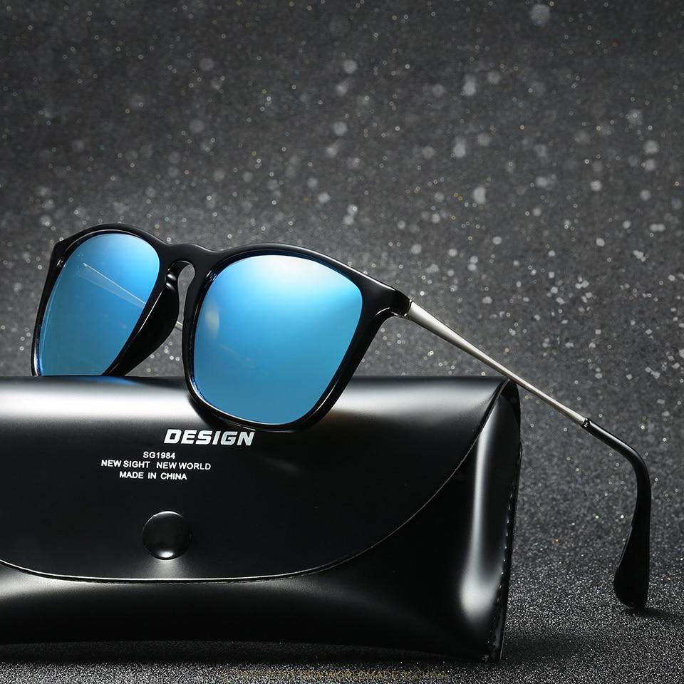 b9497a8f1 Espelhado Óculos de Moda feminina 4171 Eyecrafters Marca Designer Polarized  Óculos De Sol Das Mulheres Retro óculos de Sol Olho De Gato Do Vintage