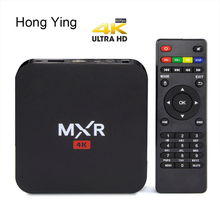 MXR Quad Core ROM 8G Android TV Box KODI Fully Loaded Smart Tv Support Wifi H.265 UHD 4K HDMI 2.0 Media Player Android TV Newest