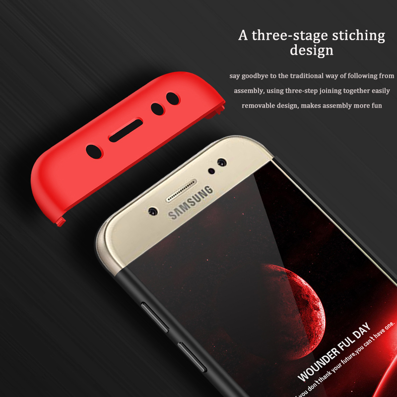 competitive price 33264 8383b US $3.59 28% OFF| GKK J5 2017 Case 360 Full Protection Shockproof Case for  Samsung Galaxy J7 Pro 2017 J3 J5 Pro J330 J530 J730 J730F Cover Coque-in ...