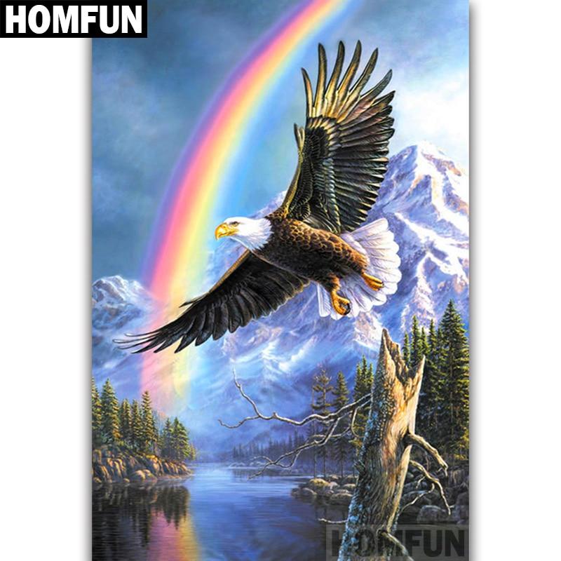 A06804      Eagle Rainbow