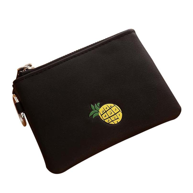 New 2017 Women Simple Short Wallet Fruit Zipper Coin Purse Card Holders Handbag drop shipping 0710 original 7 inch digma hit 3g ht7070mg tablet touch screen panel digitizer glass sensor replacement free shipping