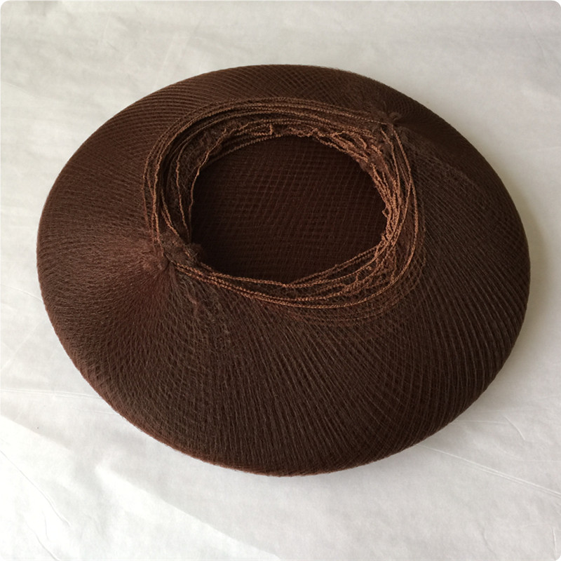 144 pcs/lot filets à cheveux de danse de haute qualité bord élastique maille filet à cheveux Invisible filet en Nylon jetable