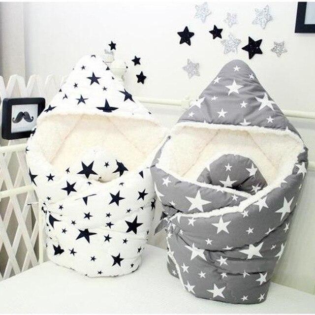 90*90 см Хлопок Bebe пеленать малыша Детские коляски спальный мешок для ребенка Sleepsack конверт Обёрточная бумага коляска для новорожденных