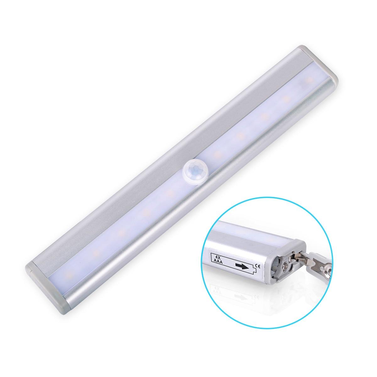 LED Night Light 10leds Wireless LED Light Motion Sensor