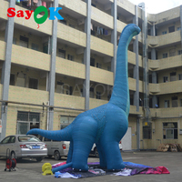 Giant Inflatable Dinosaur 7m/6m High Halloween Outdoor Inflatable Model for Exhibition Advertising Party Decorations