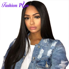 "6A brasiliansk Virgin Hair 16 ""-24"" Clip In Hair Extensions 7pcs Clip In Mänskliga Hårförlängning Brazilian Hair Weave Bundles"