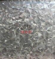 2013 Sea Shell Mosaic Tiles Dense Seamless Join Natural Pure White Color Art Deco Wall Mosaics