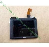 Novo Para Nikon D750 LCD Assembléia Screen Display Com Dobradiça Flex Peças de Reparo do Cabo