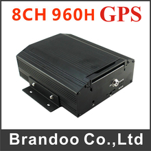 8CH Car DVR GPS MDVR With Motion Detection