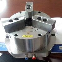 Hollow vertical three prong pneumatic chuck drilling machine milling machine KL110SQ 3