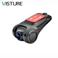 Dashcam Sony IMX322 Sensörü Araba DVR Novatek 96655 WiFi Gece Görüş 1080 P Dash Kamera Video Kaydedici VISTURE RS301