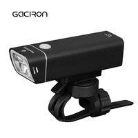 Gaciron 600 Lumens Cycling Bicycle Headlight With Wire Control IPX6 Waterproof MTB Road Bike Light USB