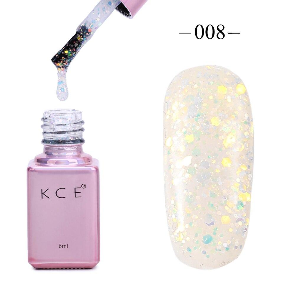 Langlebige Super Bling Candy Farbe 3D Diamant Glitter UV Nagellack 6 ...