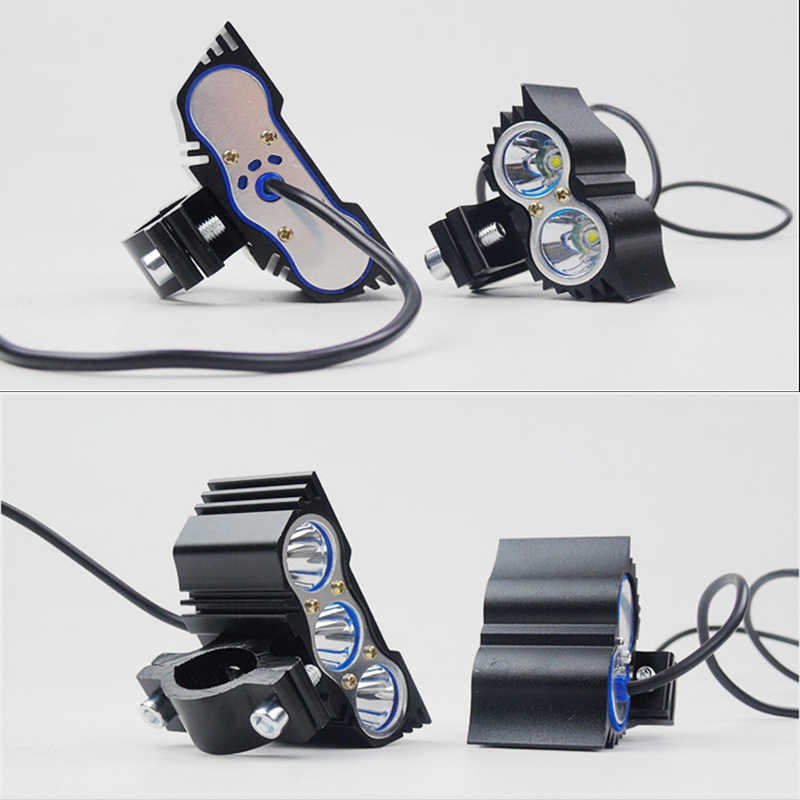 2pcs Motorcycle LED Headlamp 12V 20W Auxiliary driving lights New Owl Car Head Lamp Motorbike 6000k High Brightness Headlights
