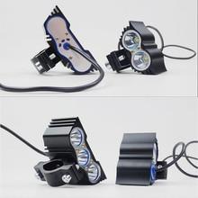2 pz Moto HA CONDOTTO il Faro 12 v 20 w Ausiliario di guida luci Nuovo Gufo Auto Testa Della Lampada Moto 6000 k ad alta Luminosità Fari