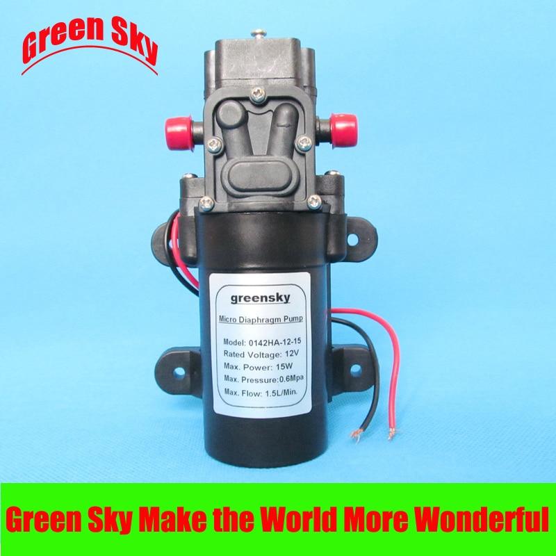 DC12V 15W High Pressure diaphragm pump