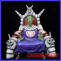 Модели вентиляторов в наличии Оригинальный Новый Dragon ball 28 см начальной стадии Piccolo GK статуя из смолы фигурку Коллекция Модель игрушки