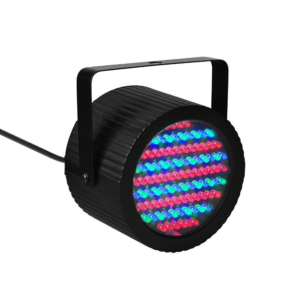 TSSS 86 RGB LEDs Par Lighting Bright Mini Stage Par Light with DMX512 Control Sound Activation for Party Celebration KTV Bar