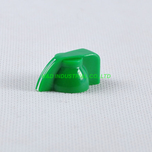 10pcs Colorful Rotary Volume Green Control Vintage Plastic Knob 32x14mm for 6.35mm Shaft
