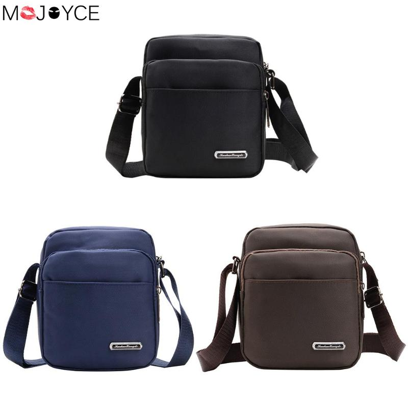 Solid Color  Luxury Brand Men Messenger Bags Crossbody Business Casual Handbag Male   Leather Shoulder Bag Large Capacity(China)
