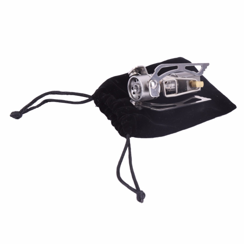 New 3000W 45g Outdoor Portable Folding Mini Camping Oven Gas Stove Life-saving Stove Stove Pocket Picnic Cooking Gas Stove