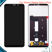 100% Tested OK For Xiaomi Redmi Note 5 Plus LCD Display Touch Screen Digitizer Assembly Replacement For Hongmi 5 Plus цены
